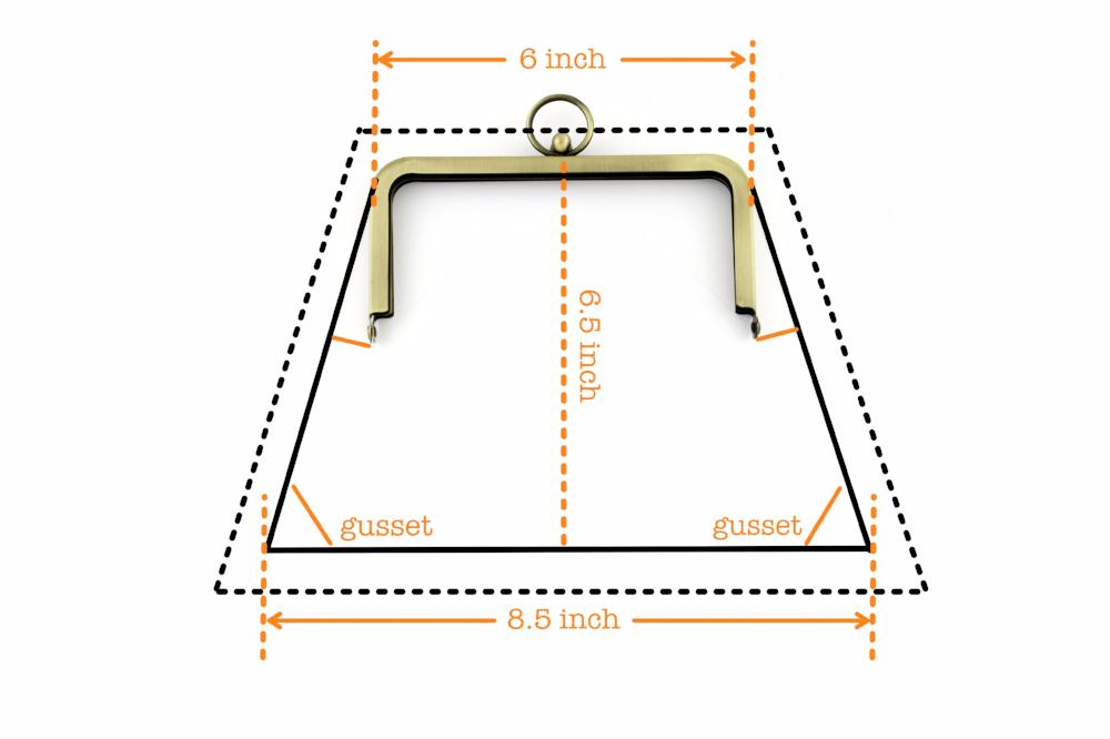 image about Handbag Patterns Free Printable referred to as Behavior Drafting for the Steel Clutch Body, Free of charge Purse