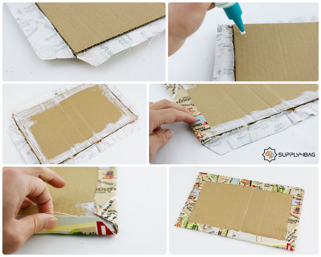 Book Clutch Cover Making