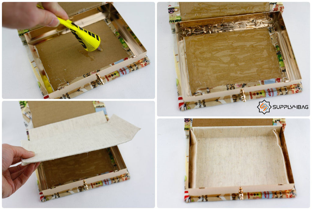 How to Glue a Book Clutch
