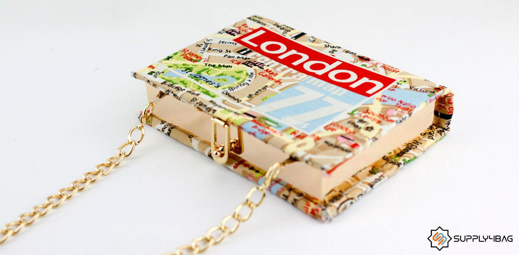 Adorable Book Clutch DIY
