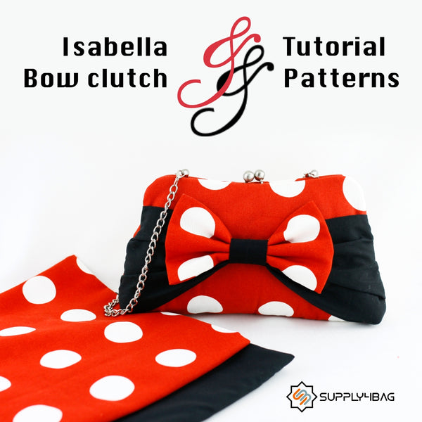 Isabella Box Clutch DIY Tutorial & Patterns | SUPPLY4BAG
