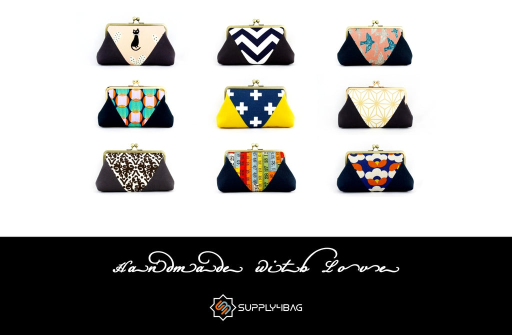 Pattern and Tutorial for Patchwork Clutch Making | SUPPLY4BAG