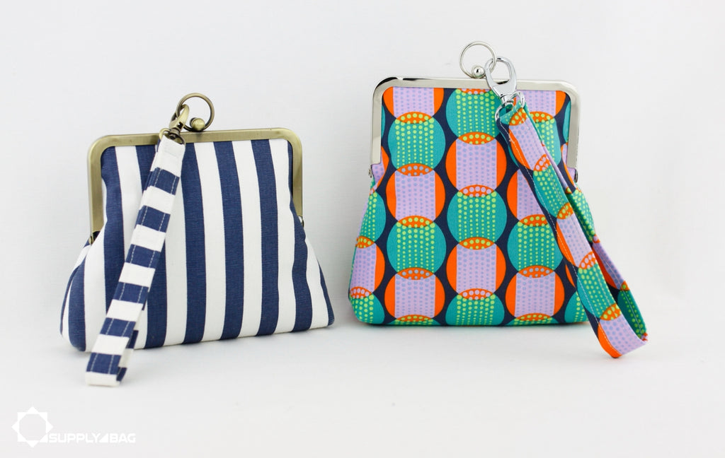 Handy & Functional Wristlet Making Tutorial and Patterns