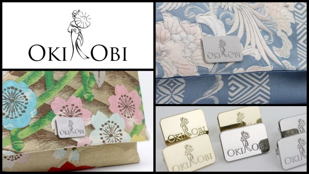 99320ad465 CUSTOM Metal Label Tags for Stylish Clutch Bags