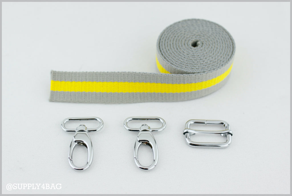 Materials for Making an Adjustable & Removable Strap | SUPPLY4BAG