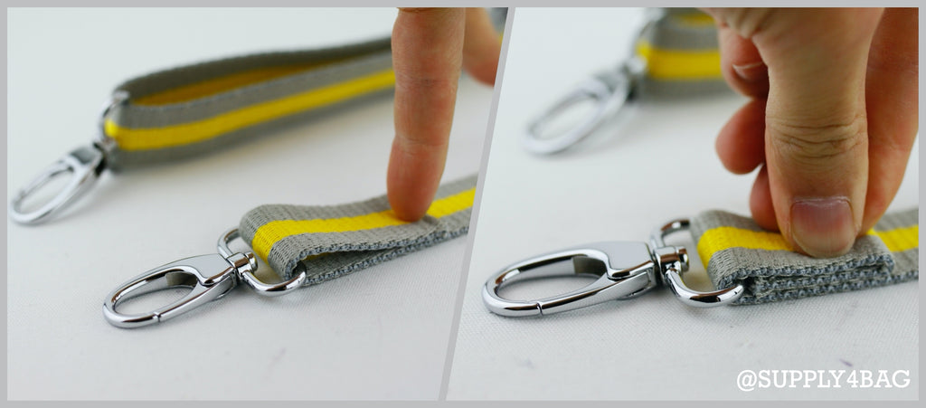 How to Make an Adjustable and Removable Bag Strap | SUPPLY4BAG