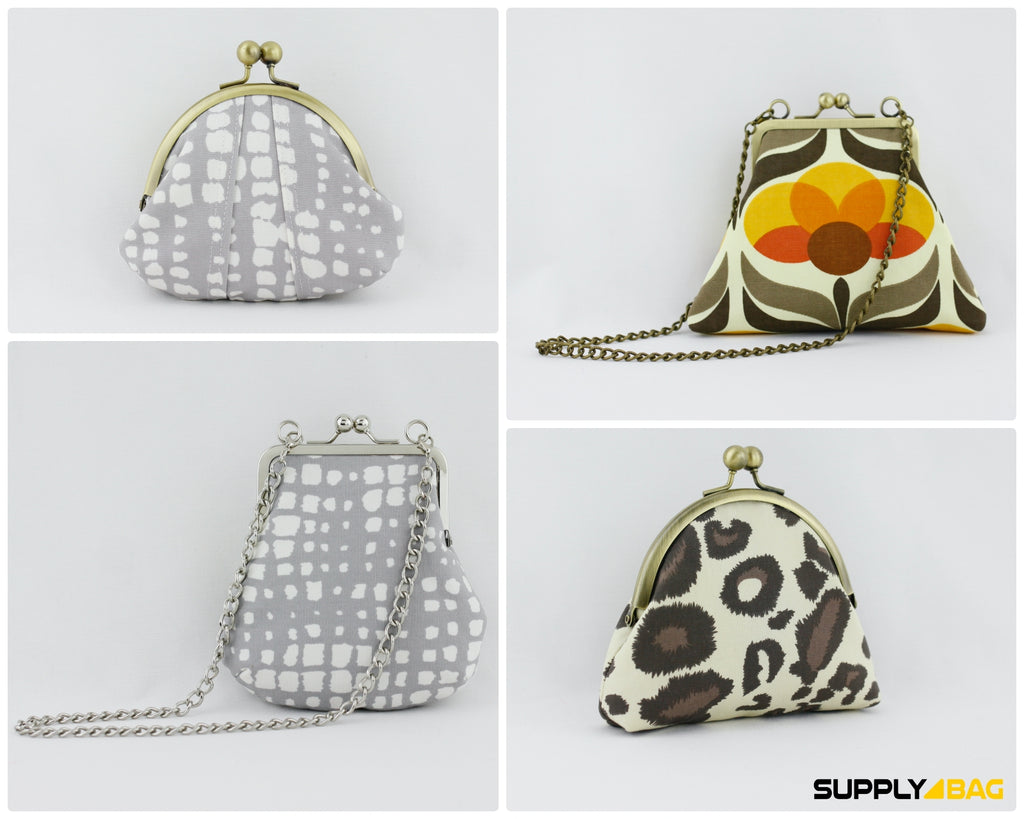 Kisslock Coin Purse Tutorial and Pattern Free | SUPPLY4BAG