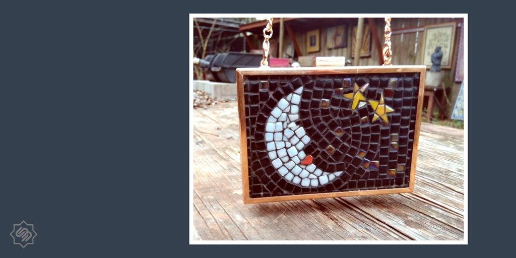 Create Your Own Mosaic Frame Clutch and Get Inspired from Frederic Lecut | SUPPLY4BAG