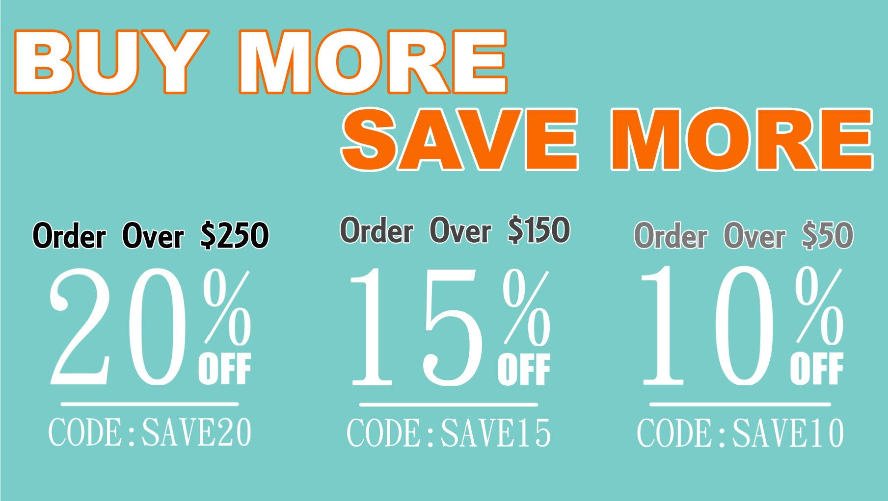Discounts, Promo Codes & Offers | BUY MORE SAVE MORE SUPPLY4BAG