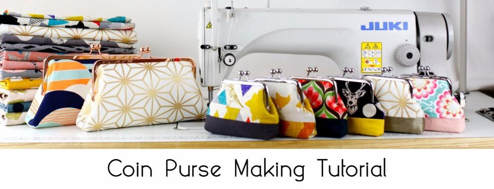 coin purse making tutorial