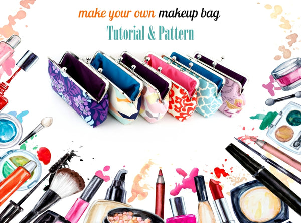 learn how to make your own makeup bag