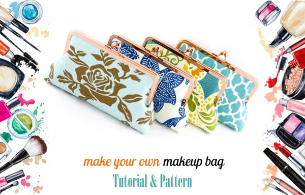 Step by Step DIY makeup Bag | SUPPLY4BAG