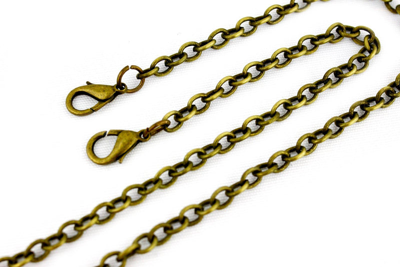 22 inch - Antique Brass Purse Chain (Small) | SUPPLY4BAG