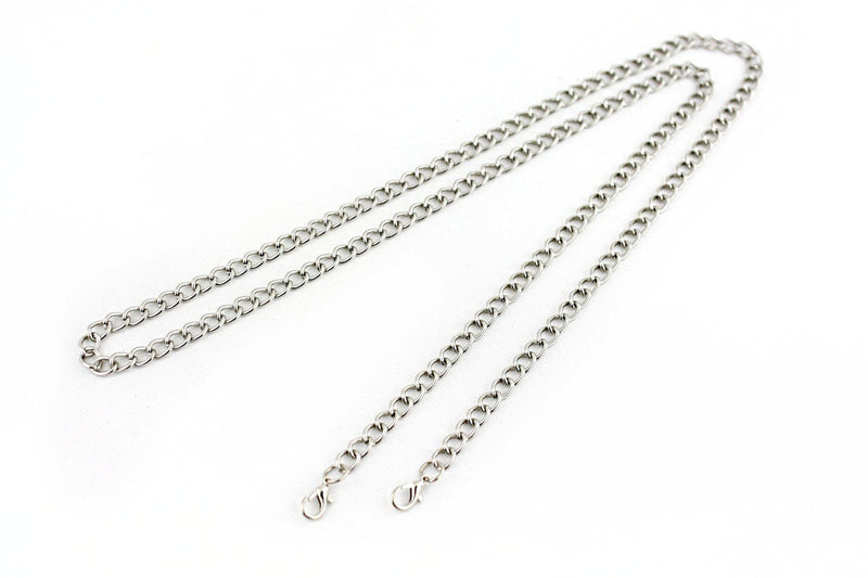 48 inch - Silver Purse Chain (Medium) | SUPPLY4BAG