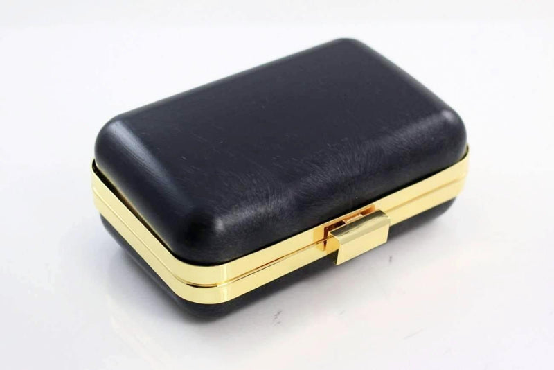 5 3/8 x 3.5 inch - Gold Minaudière Metal Clutch Frame | SUPPLY4BAG