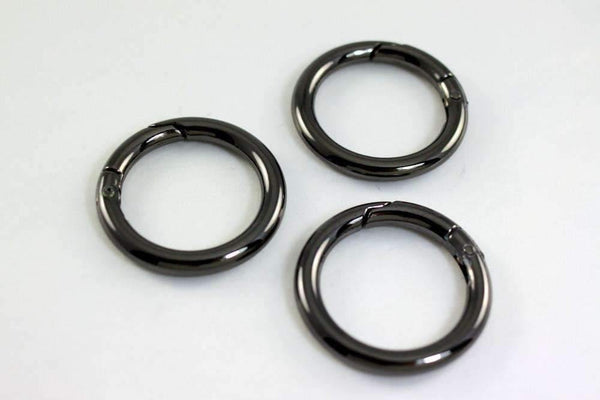 1 1/4 inch(inner) - Gunmetal Spring Gate O Rings - 10 pieces | SUPPLY4BAG