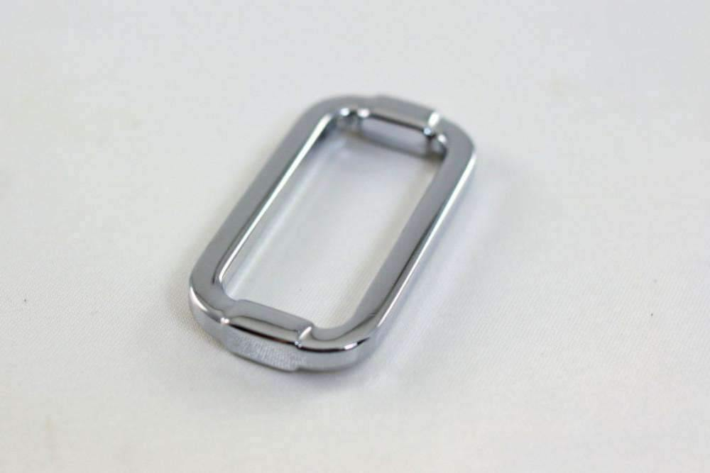 1 1/4 inch (inner) - Nickel Rectangle Ring - 10 Pieces | SUPPLY4BAG