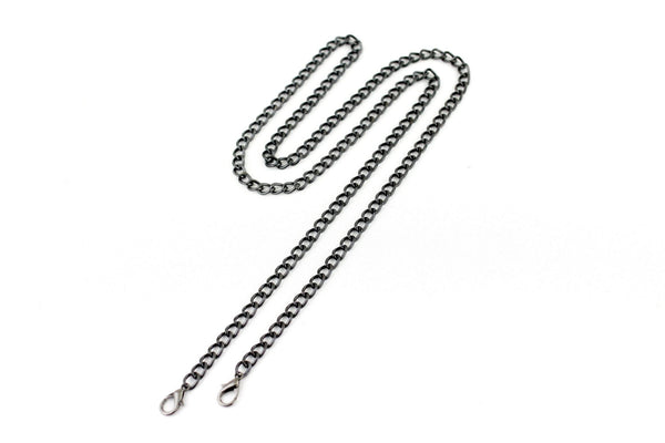 48 inch - Gunmetal Purse Chain (Medium) | SUPPLY4BAG