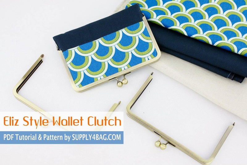Eliz Wallet Clutch Making Tutorial & PDF Pattern | SUPPLY4BAG