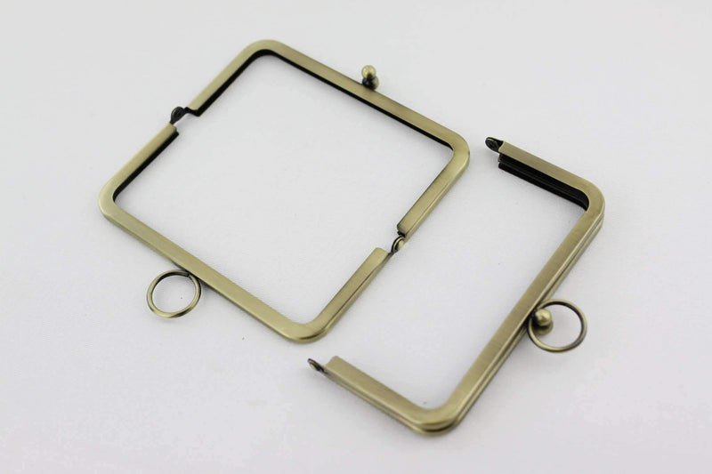 6 x 3 inch - O Ring - Antique Brass Metal Purse Frame | SUPPLY4BAG