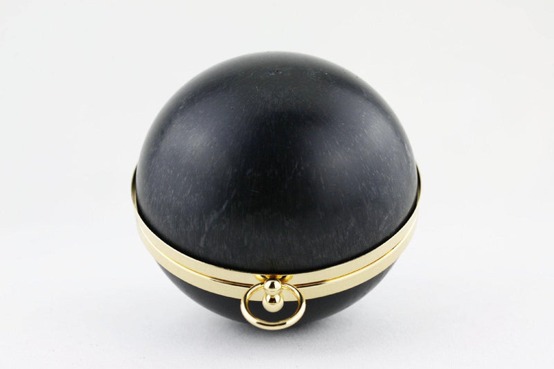5.5 inch - O Ring Closure - Globular Golden Box Clutch Frame | SUPPLY4BAG