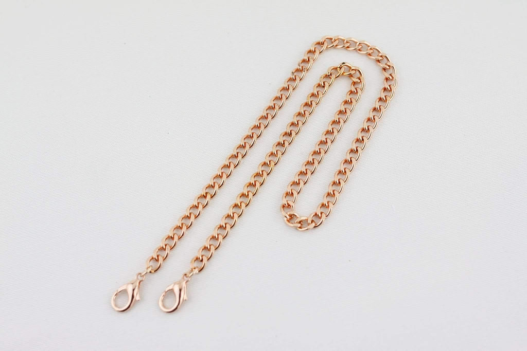 22 inch - Rose Gold Purse Chain (Medium) | SUPPLY4BAG