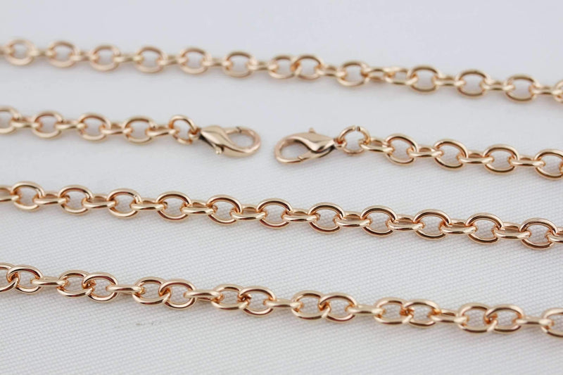 48 inch - Rose Gold Purse Chain (Small) | SUPPLY4BAG
