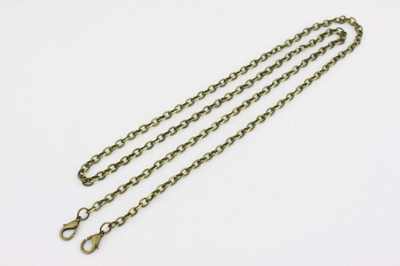 48 inch - Antique Brass Purse Chain (Small) | SUPPLY4BAG