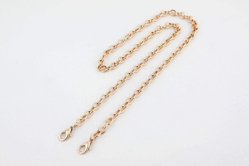22 inch - Rose Gold Purse Chain (Small) | SUPPLY4BAG