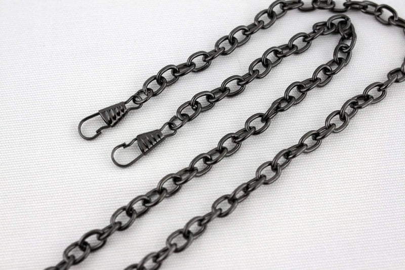 22 inch - Gunmetal Purse Chain (Small) | SUPPLY4BAG