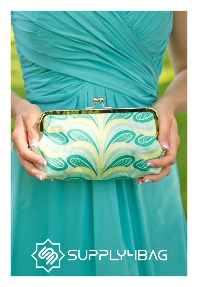 Kisslock Frame Clutch in 3 Different Styles - Tutorial & PDF Pattern | SUPPLY4BAG