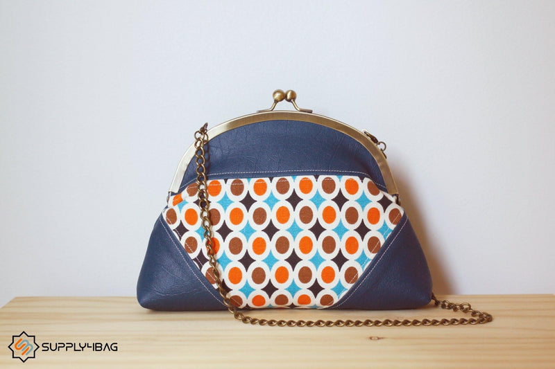 Victoria Frame Clutch Making Tutorial & PDF Pattern | SUPPLY4BAG