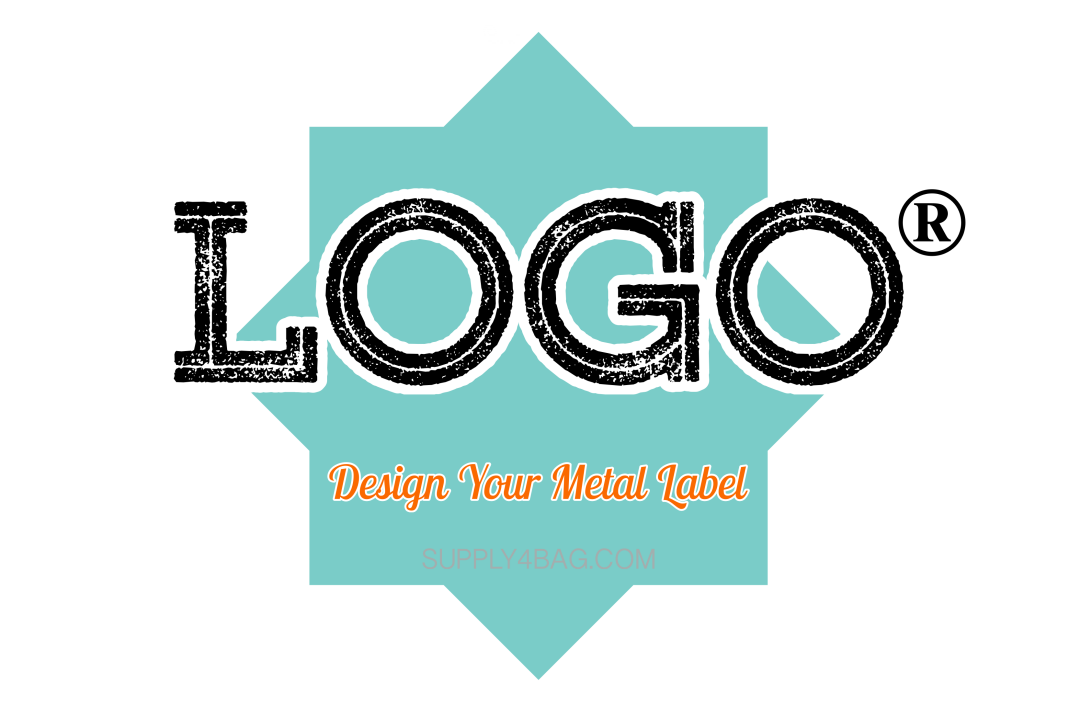 Custom Design Logo Metal Label for Your Fashion Brand - 500 Pieces (MOQ)