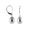 Lustruous Tahitian Pearl Earrings
