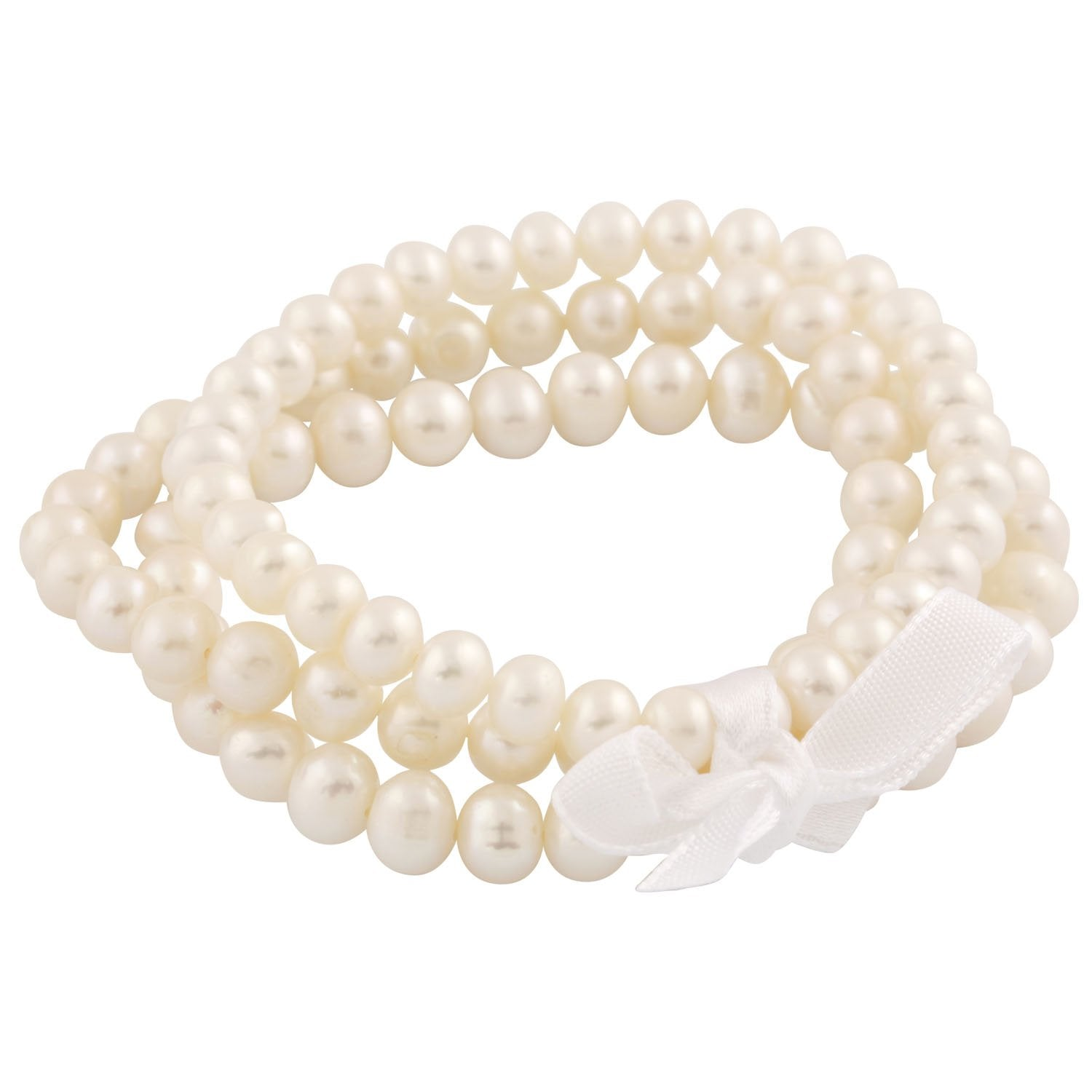 Trio of Beautiful Freshwater Pearl Bracelets