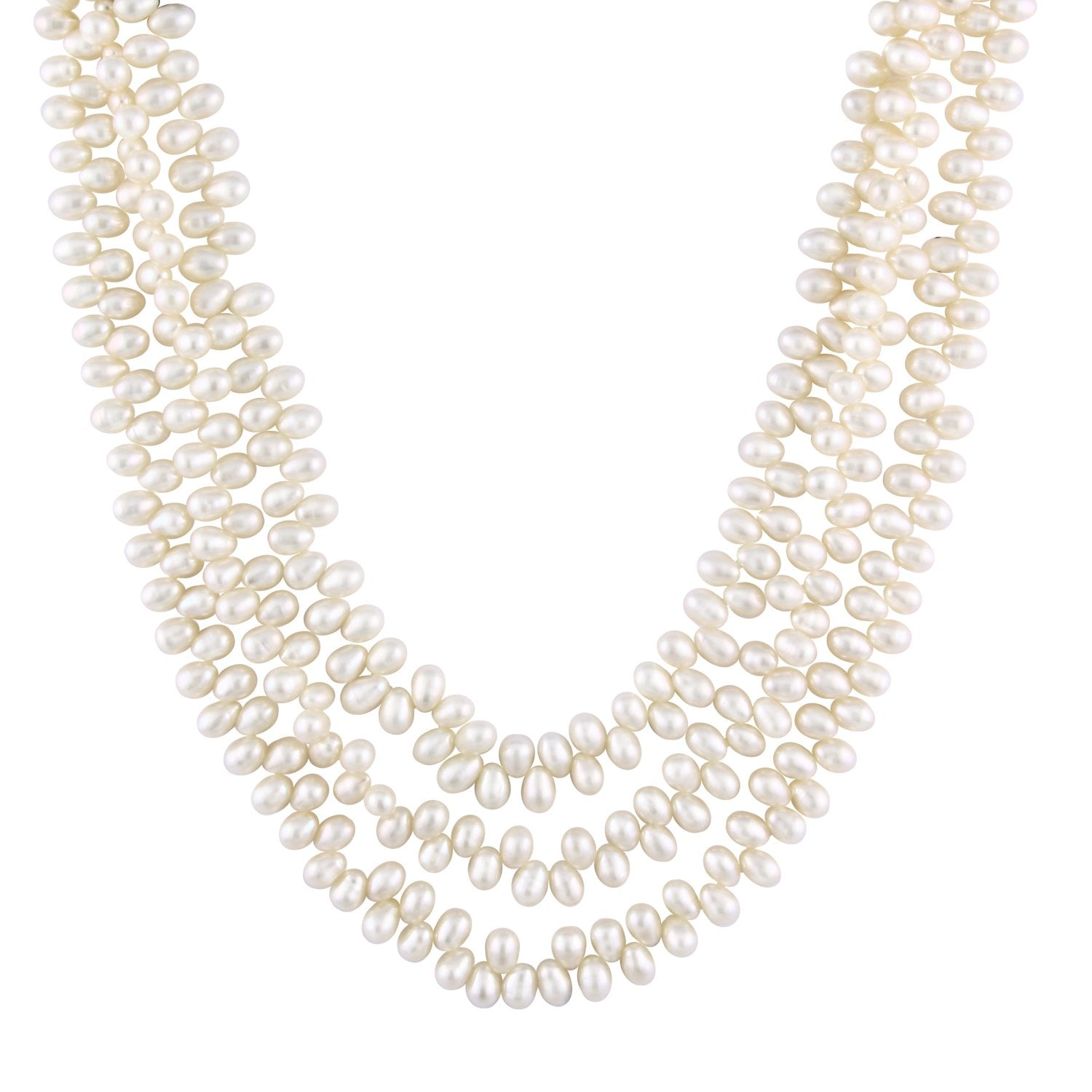 Fabulous Designed Endless Pearl Necklace