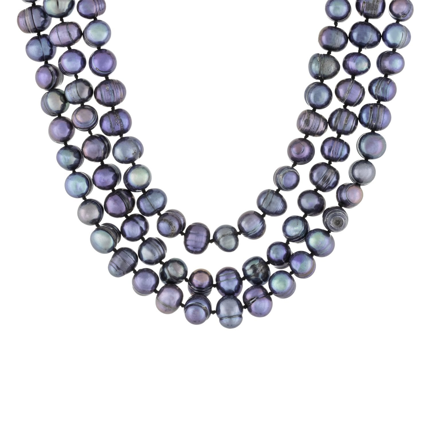 "Stunning 100"" Endless Pearl Necklace"
