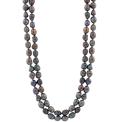 "Fancy Baroque 64"" Endless Pearl Necklace"