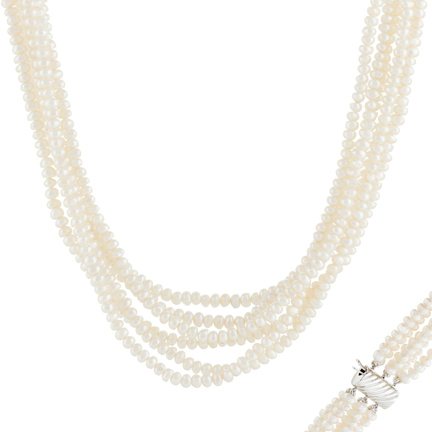 Magnificent Multi strand Pearl Necklace