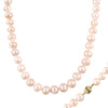 Fancy Freshwater Pearl Necklace set in 14k gold