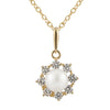 Star Shaped Kids Pearl Pendant