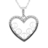 Heart Shaped Pearl Pendant