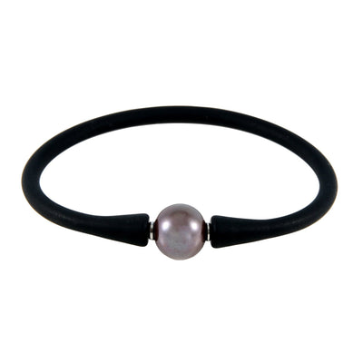 Tahitian Pearl Silicone Bracelet