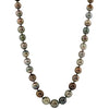 Natural Black Tahitian AAA Pearl Necklace