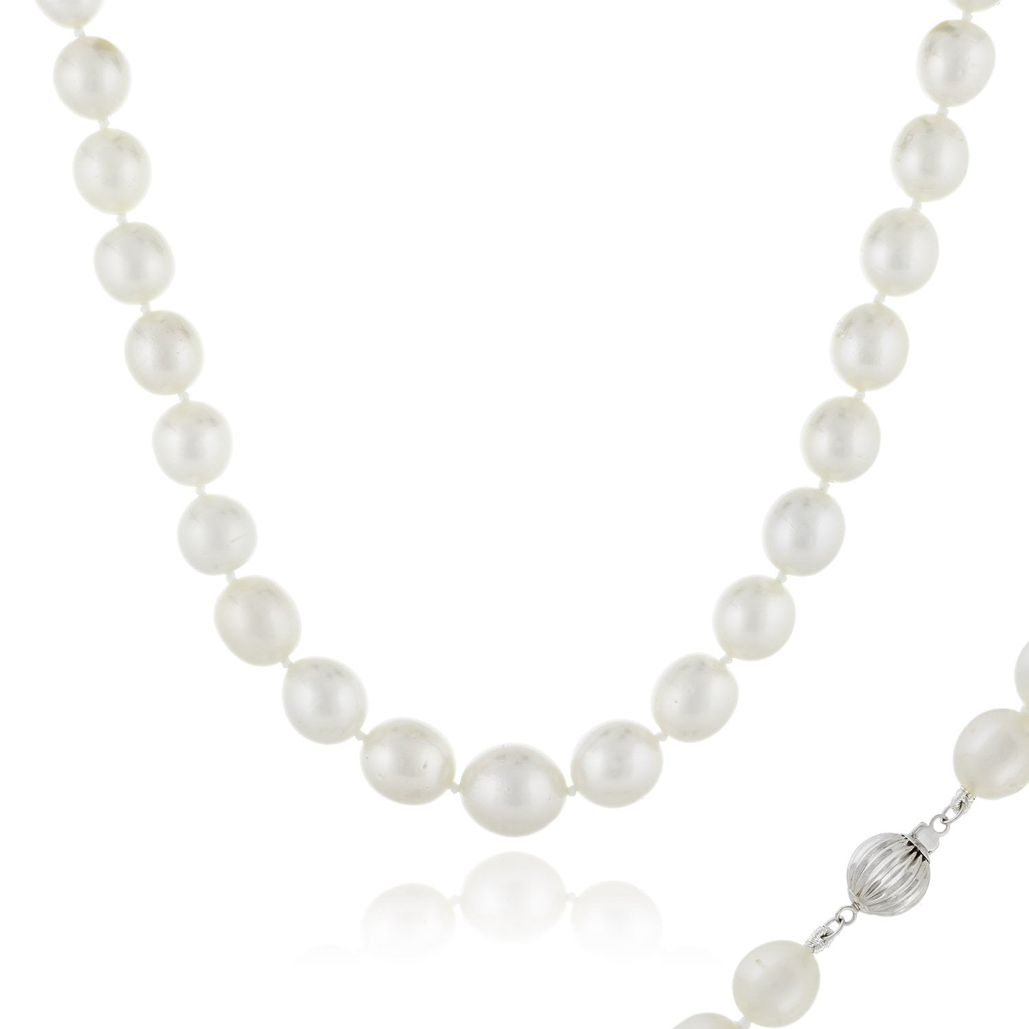 Natural White South Sea Necklace