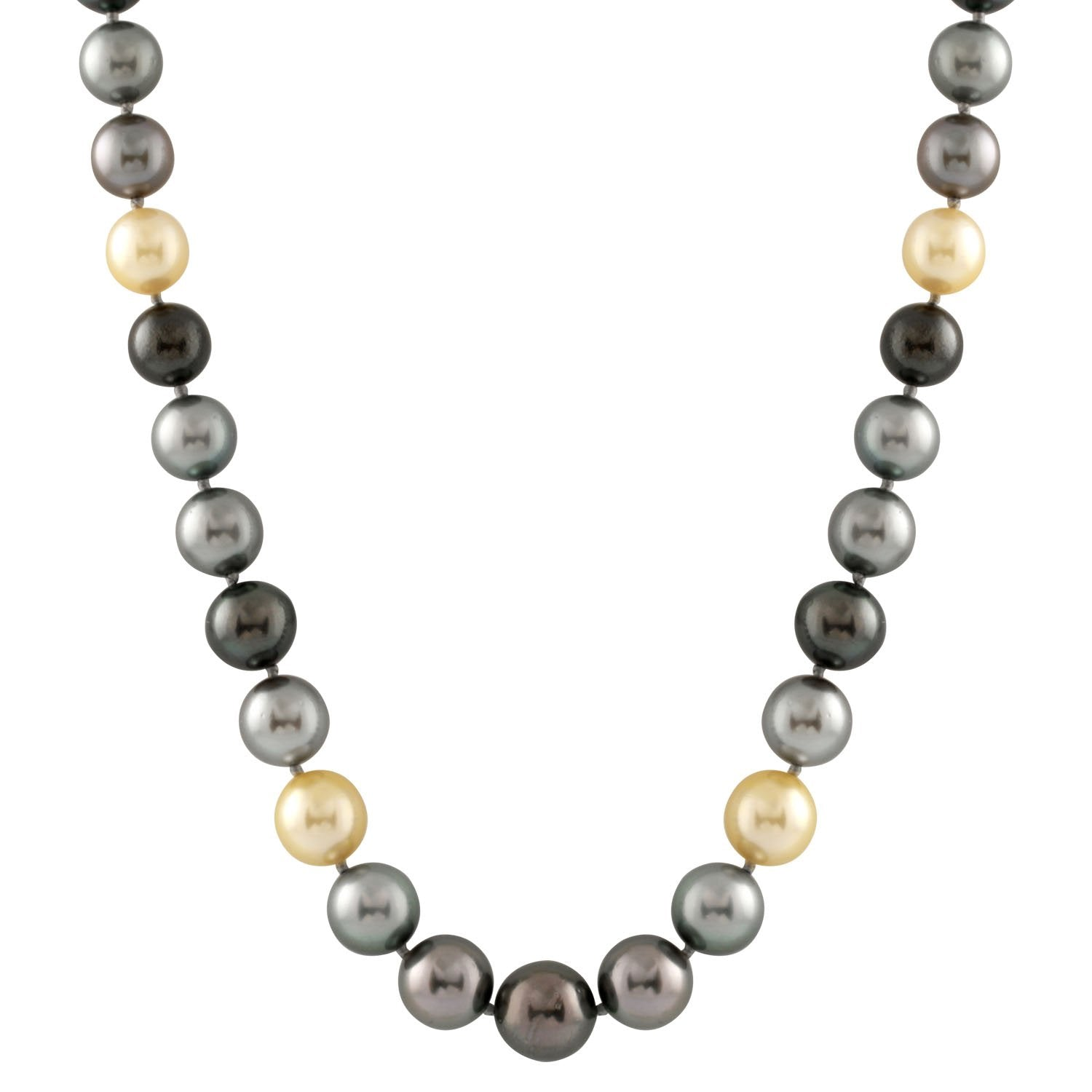 Multicolored Tahitian South Sea Necklace