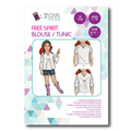 Tadah Pattern - Free Spirit Blouse & Tunic Pattern
