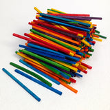 Wooden Match Sticks - Coloured