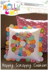 Melly & Me Happy Scrappy Cushion Pattern Card
