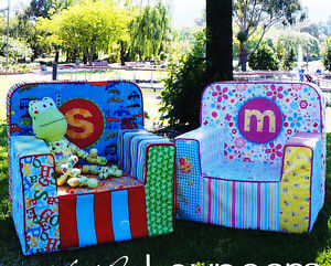 Melly & Me Little Loungers Toddler Chair Pattern